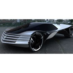 25 Futuristic Concept Cars that will never hit the road ❤ liked on Polyvore featuring transportation