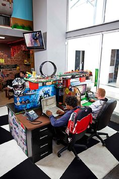 The most fun and creative workplace you can find