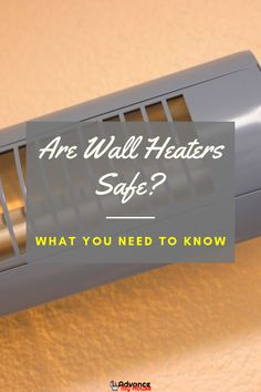 Are Wall Heaters Safe: Things to Keep in Mind.  What's important about wall heater safety is the placement of the furniture. If you have upholstered couches or chairs in your home and are placed exactly in the line of the wall heater, the risk of it catching fire is very high.    #AdvanceMyHouse #WallHeaters #BathroomWallHeater #BathroomHeaterIdeas #SpaceHeaters #BestWallHeaters #ModernBathroomHeaters Bathroom Heater, Bathroom Wall, Modern Bathroom, Best Space Heater, Diy Heater, Compact Living, Catching Fire, Floor Space, Cool Walls