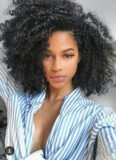 Black Kinky Curly hair is more natural than any other hair, absolutely! Black Kinky Curly hair is more natural than any other hair, absolutely! Curly Hair Styles, Kinky Curly Hair, Curly Girl, Natural Hair Styles, Scene Hair, Cabelo 3c 4a, Pelo Afro, Pelo Natural, Natural Curls