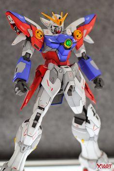 GUNDAM GUY: MG 1/100 Wing Gundam Proto Zero EW - Customized Build