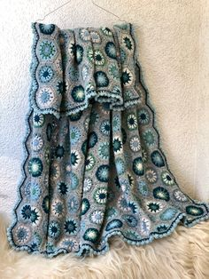 Wool Yarn, Plaid, Blanket, Crochet, Handmade, Gingham, Hand Made, Ganchillo, Blankets
