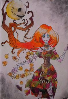 Sally's moon by ~sonicSWEETheart on deviantART
