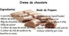 Os doces compostos por chocolate são os mais pedidos por pessoas de todas as idades.