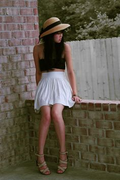 Summer days. (by Trang Huyen) http://lookbook.nu/look/173847-summer-days