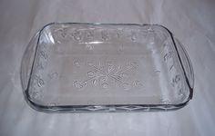 Anchor Hocking Savannah Lasagna 9 x 13 Glass Baking Casserole Ovenware Dish New #AnchorHocking