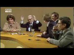 Werner Höfers Internationaler Frühschoppen - OMG was wurde da um 12 Uhr gequalmt und gesoffen. Diskussion im Nebel und war das Glas nicht mehr voll, wurde nachgeschenkt - Wein Weinbrand ... eine Rückschau (WDR)