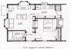 Garage Studio Apartment Plans convert garage to apartment plans | plans & rates for glen forest