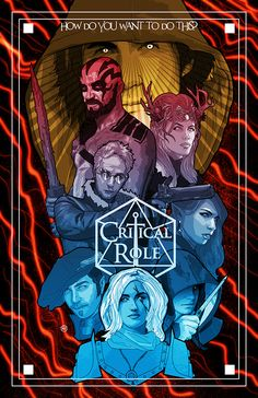 Critical Role Fan Art Gallery – Bring Out Your Art | Geek and Sundry