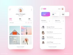 """Zedian App Messaging Filter: App concept (Zedian). Working on messaging to enhance filter option for fans, agencies, followers blah blah blah... JK Press """"L"""" to appreciate ❤️  . Follow me on Dribbble for more exciting shots."""