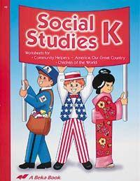 social studies K Abeka