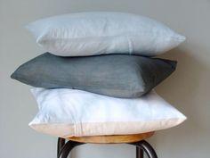 Cotton Flour Sack Pillow Cover: Remodelista