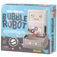 Build a bubble-blowing robot to blow bubbles with. (A great activity for bubble enthusiasts.)