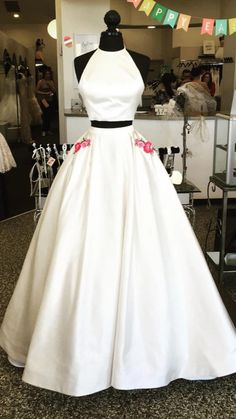 White Homecoming Dresses, Prom Dresses With Pockets, A Line Prom Dresses, Evening Dresses, Flower Girl Dresses, Wedding Dresses, Prom Gowns, Party Dresses, Dance Dresses