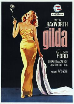 Extra Large Movie Poster Image for Gilda (1946)