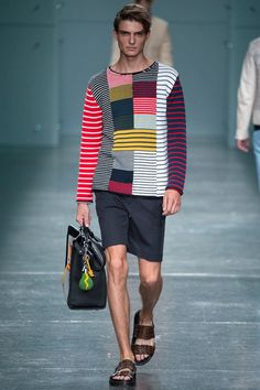 Fendi Spring Summer 2015 Fashion Show Collection Images Spring Fashion, Fashion Show, Mens Fashion, Fashion Design, Bike Fashion, Milan Fashion, Fashion Styles, Fendi, Gq