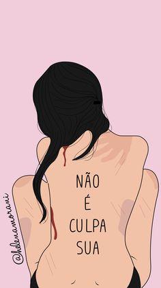 #ilustra #ilustração #ilustration #ilustracion #draw #art #arte #leimariadapenha #abuso #nãoéculpasua #relacionamentoabusivo #girlpower #wallpaper