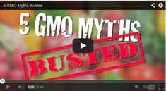 5 GMO Myths Debunked  Organic Produce Delivery NJ - 5 GMO Myths Busted  GMO (Genetically Modified Foods) is a very popular topic these days.  Watch this video that debunks 5 GMO myths and why you should eat organic.     If you live in NJ and you would like fresh, affordable organic produce then you are in the right place!