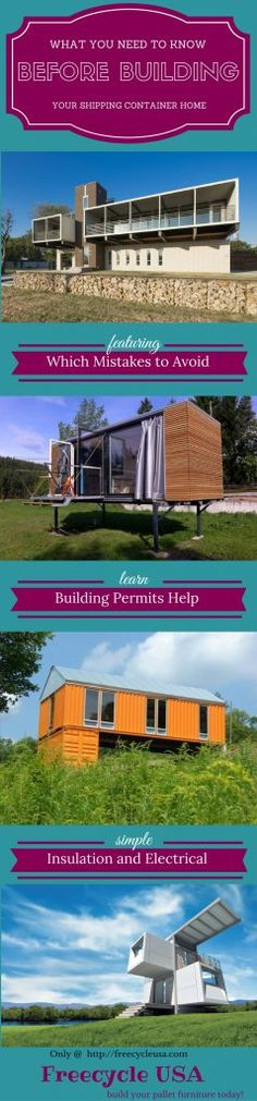 How To Build Your Own Shipping Container Home When it comes to building your own shipping container home there are many things we need to consider. I imagine you've already searched for v