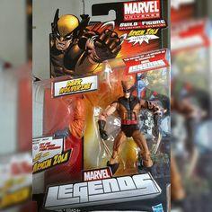 #Marvel #Legends #Arnim #Zola  Series  #Dark #Wolverine  #action #figures #figuras #ação #comics #Quadrinhos #villains #viloes