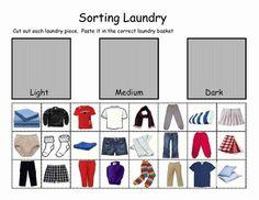 Sorting Laundry - Life Skills