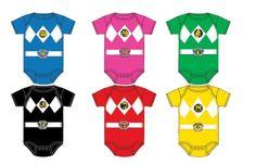Power Rangers Baby Ranger Costume Infant Onesie Romper