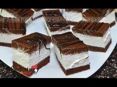 Reteta de Prajitura Kinder Felie de Lapte - YouTube Tiramisu, Deserts, Cakes, Cooking, Ethnic Recipes, Youtube, Food, Pie, Kuchen