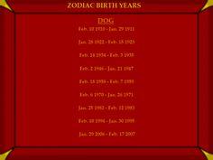 Dog Chinese Astrology