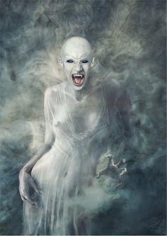 Vampire by Jacek Rudowski, via Behance