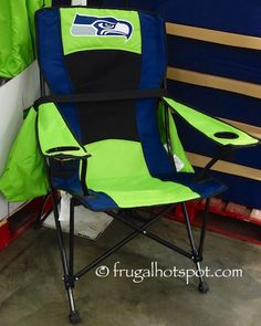 Costco Has The Jarden Oversized High Back Chair (Seattle Seahawks) On Sale  For A Limited