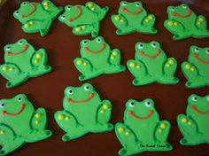 frog cookies - Google Search