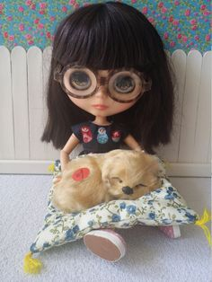 Dogs with sound for Blythe and Dolls by BlytheMayson on Etsy