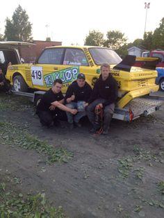 Tommy Jacobsen viser frem bilen etter Landskamp 2014. Monster Trucks, Vehicles, Vehicle
