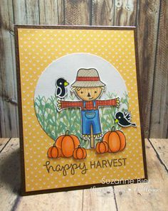Lawnscaping Challenge: Happy Harvest Card