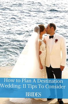 We rounded up the 11 best tips on how to plan a destination wedding from expert wedding planner Laurie Arons Plan Your Wedding, Budget Wedding, Wedding Planner, Weddings Under 5000, Perfect Wedding, Dream Wedding, Different Wedding Ideas, Event Planning Tips, Casual Wedding