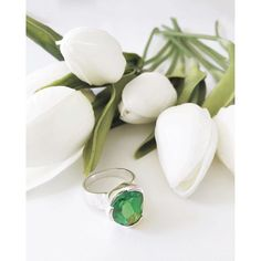 We don't believe that pretty things should be saved for certain special occasions, because EVERY day is a special occasion. Everyday Cocktail rings - available in Larimar & Green Amethyst. www.uberkate.com.au