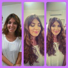 Airbrush makeup by @betzyvela