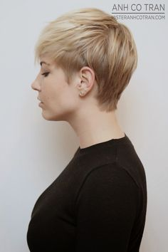 Mister AnhCoTran: LA: A MICHELLE WILLIAMS TYPE SHORT PIXIE