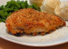 Parmesan Baked Chicken Recipe