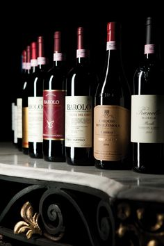 Barolo wines from Piedmont Italy
