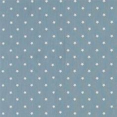Halvpanama støvet blå m stjerner