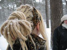 Snowy Dreads