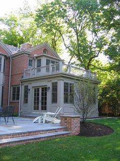 Glencoe Private Residence 2 - traditional - exterior - chicago - COOK ARCHITECTURAL Design Studio