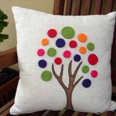 Crochet Cushion Cover, Diy Cushion, Patchwork Cushion, Crochet Cushions, Applique Pillows, Sewing Pillows, Diy Pillows, Decorative Pillows, Throw Pillows