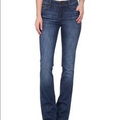 Dl1961 jeans DL1961 Elodie instasculpt jeans size 24... The Elodie has a regular rise and a boot-cut leg for a flattering and modern fit. Scout is a dark blue wash with subtle whiskering and heavy fading that lends to a broken-in feel. Presnted on DLX - four-way stretch denim that has a unique blend of cotton and LYCRA® that provides 360° movement and 98% shape retention. 85% cotton, 14% polyester, 1% Lycra  Inseam: 34 1⁄2 in Front Rise: 8 in. Jeans have been worn a handful of time but look…
