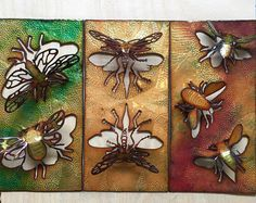 Charity Hall (@metalbug00) • Instagram photos and videos Insect Art, Medium Art, Mixed Media Art, Metal Jewelry, Charity, Enamel, Artists, Photo And Video, Videos