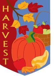 """Applique Harvest Pumpkin - Large House Flag 28"""" x 40"""" by Custom Decor. $11.99. 28""""x40"""". 100% Polyester. Mildew and fade resistant. Decorative flags are a great home and garden decoration for every season and reason!  The unique production process that goes into our flags is your guarantee that your flag will retain shape, fabric durability and vivid color through any weather condition & for many years to come!. Save 40% Off!"""