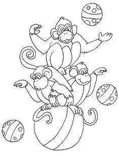 Kleurplaten Circusartiesten.308 Beste Afbeeldingen Van Thema Circus Circus Clown Clowns En