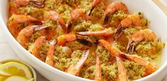 Baked Shrimp Scampi By Ina Garten