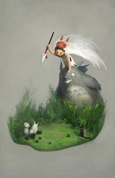 Fanart (Princess Totoronoke.)